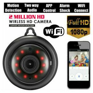 Wifi 1080P 사진기 카메라 무선 CCTV 적외선 야간 Eu