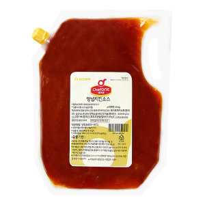 쉐프원 양념치킨소스 2kg/청정원소스