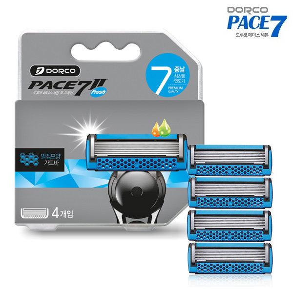 도루코 페이스 7 II 프레쉬 면도날 4개입
