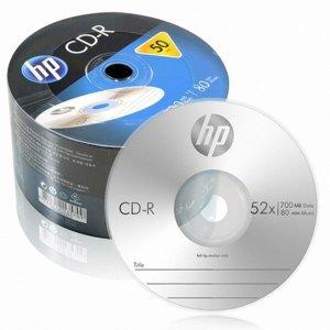HP CD-R 음악 공시디 용량 700MB 50P 벌크