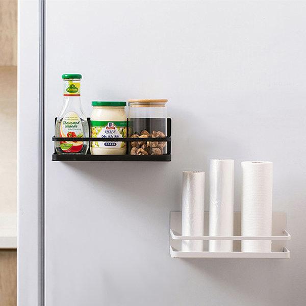 주방 냉장고 세탁기 자석 선반 1단(미니형)