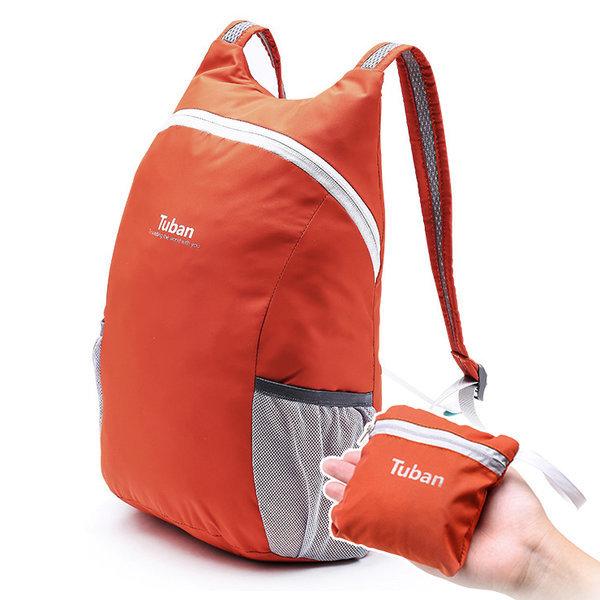 투반 초경량 휴대용 미니 폴딩 백팩 18L 대용량 가방