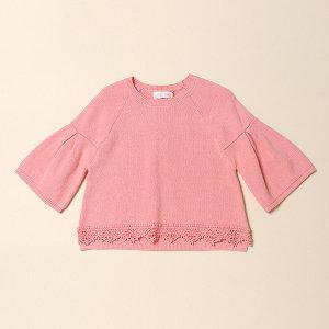 로엠걸즈(아동)  망또형 스웨터 KW19S1P