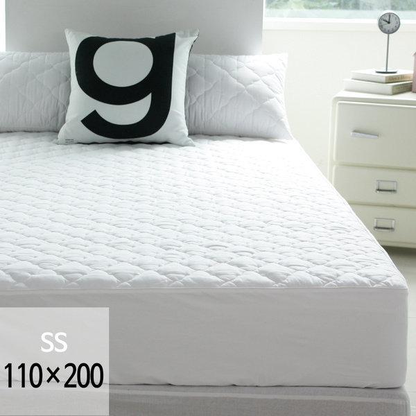 (바숨) 순면누빔 침대 매트리스커버 슈퍼싱글(SS) 110x200 사이즈