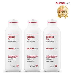 (무료배송)닥터포헤어 폴리젠 플러스샴푸 500mlX3개 (