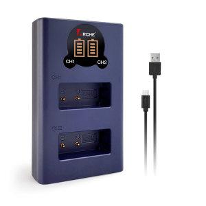 아르케 소니 NP-FZ100 LCD충전기 A6600 A7R4 A7M3 A9