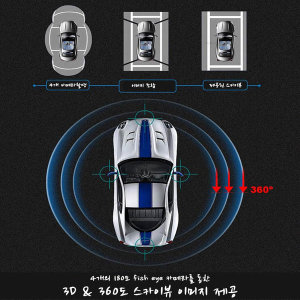 360어라운드뷰 단품/ 옴니뷰 / 주차를 쉽게/ 녹화기능