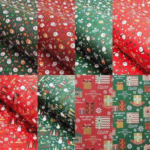 진영 크리스마스 포장지 낱장 레자크 선물포장