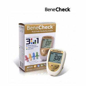 베네첵 3inONE 요산 혈당 콜레스테롤 측정기 싱글타입