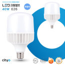 LED 전구 크림벌브 40W 26baes 주광색(하얀빛)