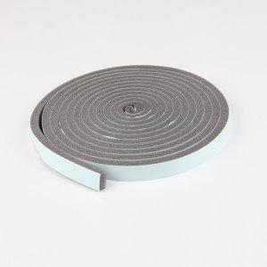 외풍차단 우레탄 문풍지 알뜰형 틈새막이 20mm x 5m