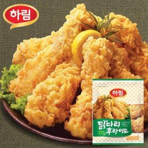 하림  닭다리 후라이드 1kg / 국내산 닭다리 12개 내외 入