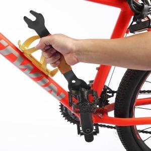 R 페달 렌치 자전거 수리 공구 15 16 17mm 스패너
