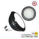 LED PAR30 파삼공 파30 전구 램프 KS 15W 확산형