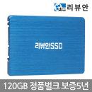 리뷰안 900G 120GB SATA SSD 정품벌크 10개 Blue