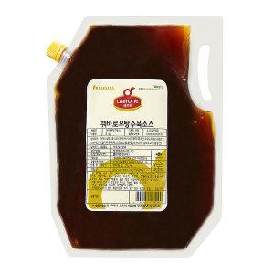 쉐프원 꿔바로우 탕수육소스 2kg/청정원 소스