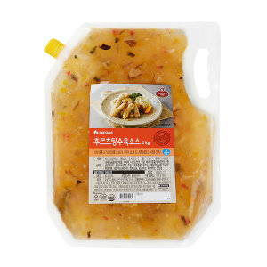 쉐프원 후르츠 탕수육소스 2kg/청정원 소스
