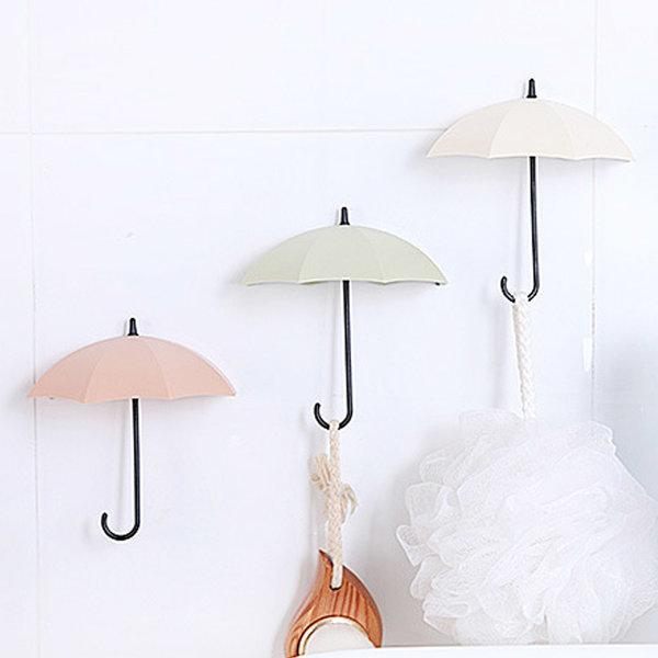 인테리어 우산모양 후크 (3P)