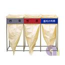 스텐마대걸이/3분류/100L 일반형/재활용분리수거함