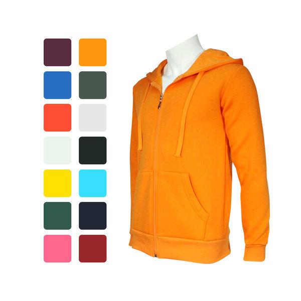 다양한컬러 남녀공용 기모원단 후드집업 겨울티셔츠