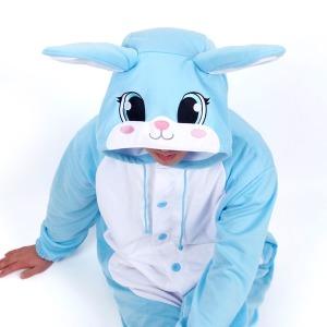 사계절 동물잠옷 토끼 (블루)/스위트홀릭