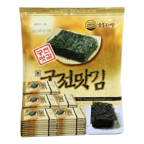 궁전맛김/본사직영 정통의 맛 그대로 맛김5호(50봉)