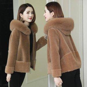 여성 퍼자켓 털자켓 루즈핏 캐주얼 겨울 페이크 CP35