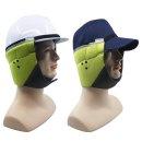 안전모 모자 패딩 방한귀덮개 형광 귀마개 귀돌이