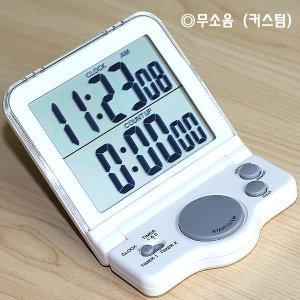 무소음 24시간 측정용 대형 스톱워치 타이머 SW-8950N