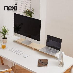 NEXI 듀얼모니터받침 (선반) NX-SMARTMS-05 / NX914
