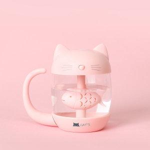 캣츠 초음파 미니가습기 H100 (핑크)