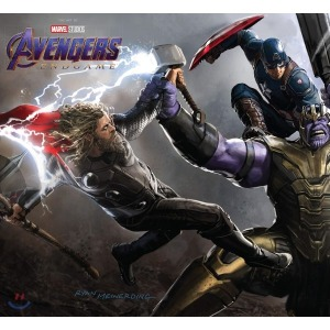 Marvel s Avengers: Endgame : The Art of The Movie 마블 어벤져스 엔드게임 공식 컨셉 아트북  Elen...