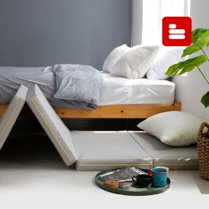 프리미엄 3단 5단 접이식매트리스 대방석 침대