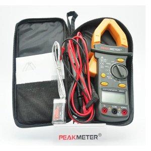 Peakmeter ms2101 디지털 전류 주파수 클램프 미터