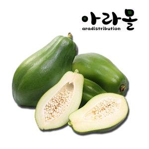 그린 파파야 (Green Papaya) 9~12과 (5kg)