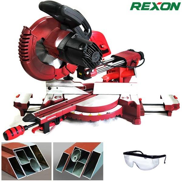REXON 슬라이딩 금속각도절단기 2502A/10` 금속절단기