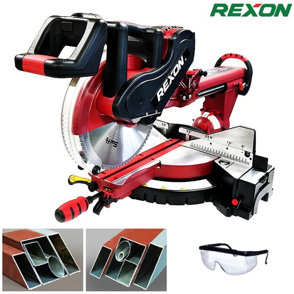 REXON 슬라이딩 금속각도절단기 9305/12` 금속절단기