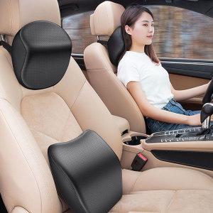차량용 운전석 목베개등받이 경추보호 목베개+허리쿠션