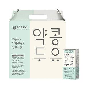 서울대 쌀눈으로 더똑똑한 약콩두유190ml 32팩