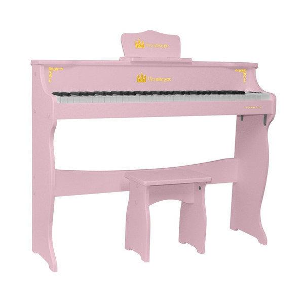 어린이피아노 레노피아 61건반 파스텔 핑크 Vernhoyce VH-61 Pink-레노피아 무료배송