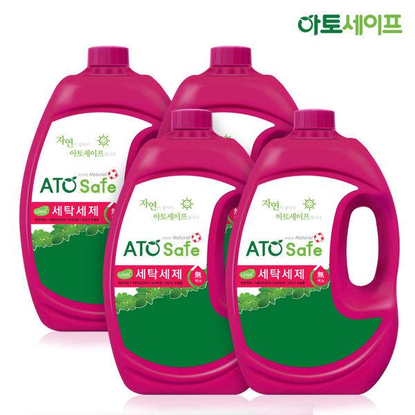 세탁세제 중성 액체 드럼/일반겸용 2.5 X 4개
