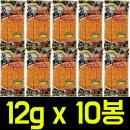 벤토 핫징어 매운맛 12gx10개 피쉬스낵/쥐포/간식안주