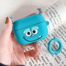 에어팟 프로 3세대 귀여운 실리콘 케이스_블루050/PRO