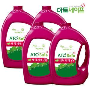 아토세이프 세탁세제 (3.1L 4개)/중성세제/액체세제