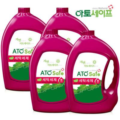 [아토세이프] 아토세이프 세탁세제 (3.1L 4개)/중성세제/액체세제
