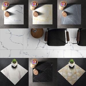 주방 욕실 타일스티커 바닥시트지 접착식 DIY인테리어