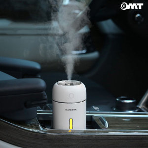 OMT 차량용 무드등 LED USB 가습기 OHM-A1 280ml 블루
