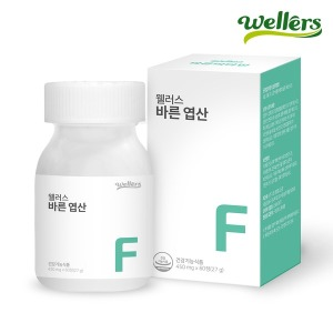 바른 엽산 (유산균유래 아연 엽산제) 60정 3중기능성