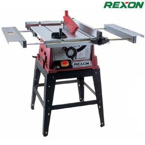 REXON 스탠드 테이블톱 10` 테이블쏘 2500/각도절단