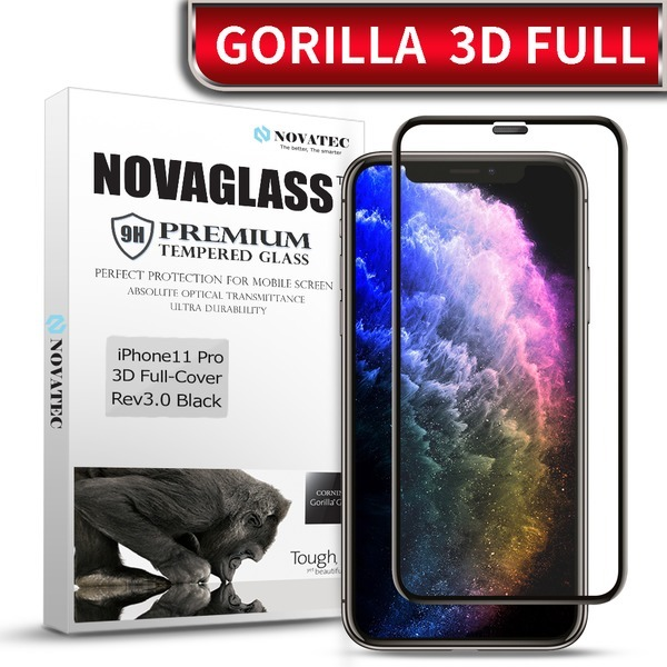 아이폰 11 XS 맥스 Pro 8 7 6 풀커버 고릴라 강화유리